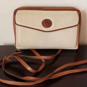 Dooney and bourke vintage wallet with crossbody